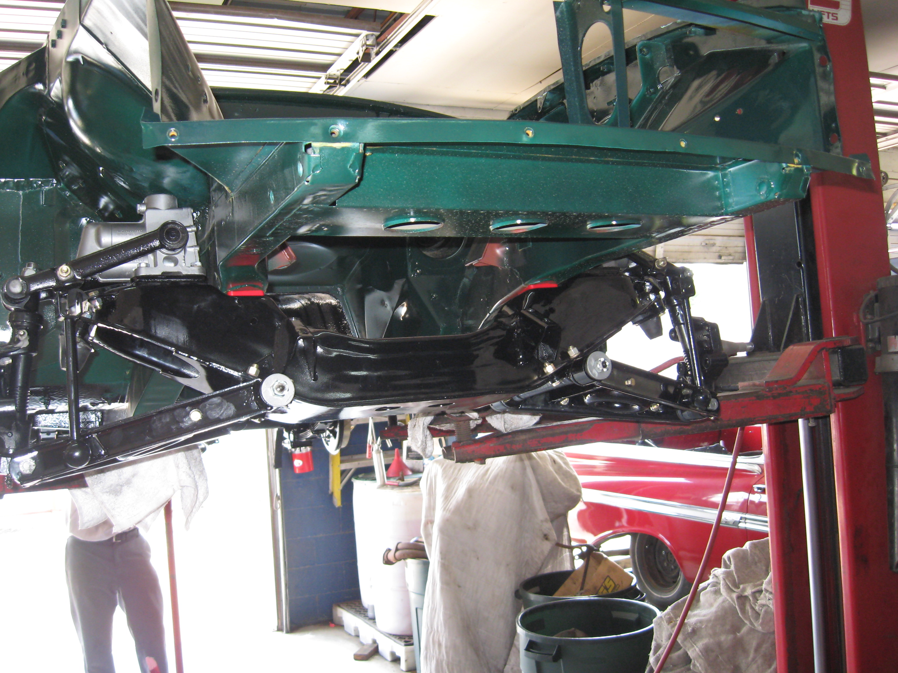Restoring the MG - Wilson\'s Auto Restoration Blog - Wilson\'s Auto ...