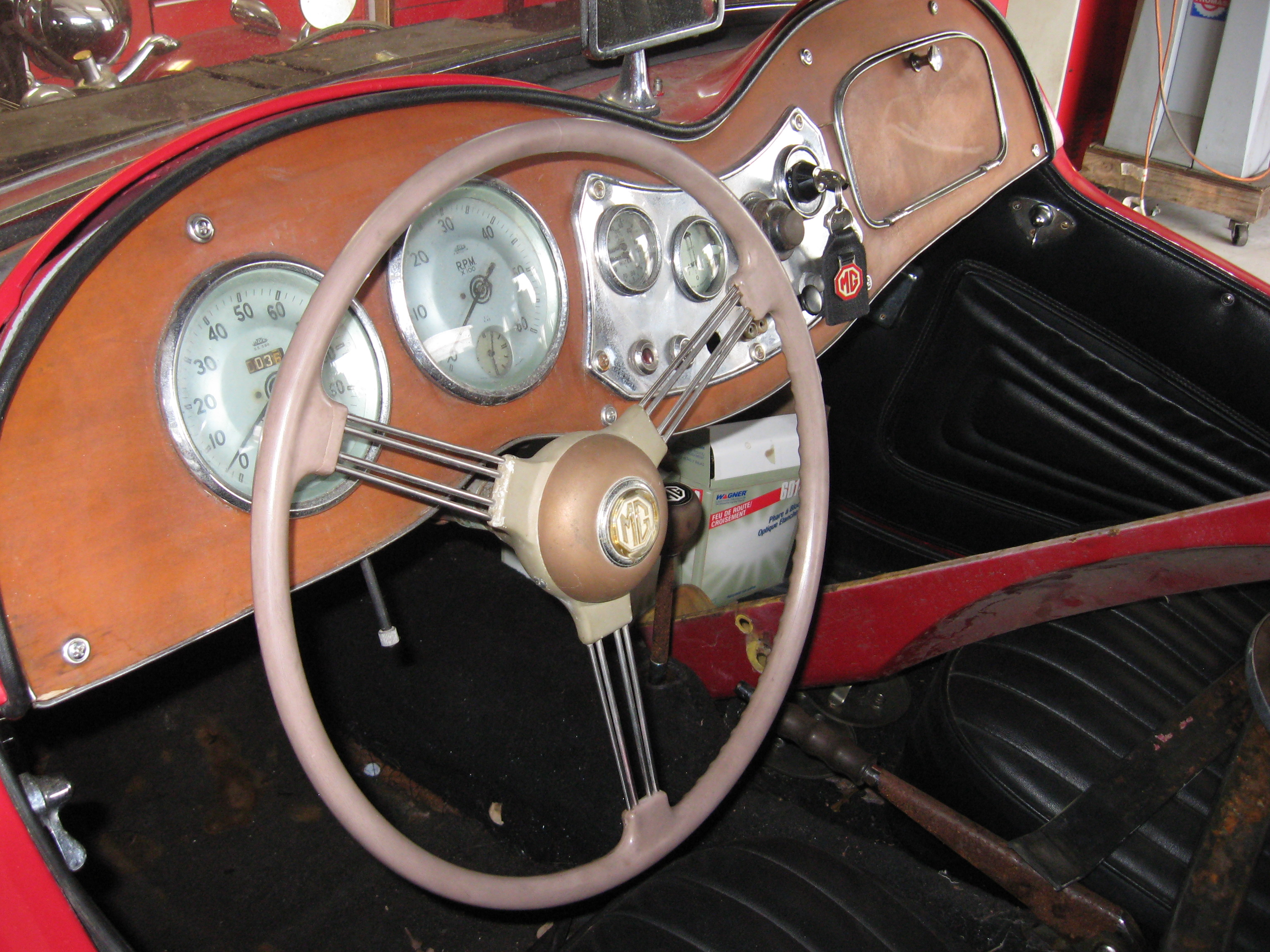 1953 Mg Td Classic Automobiles