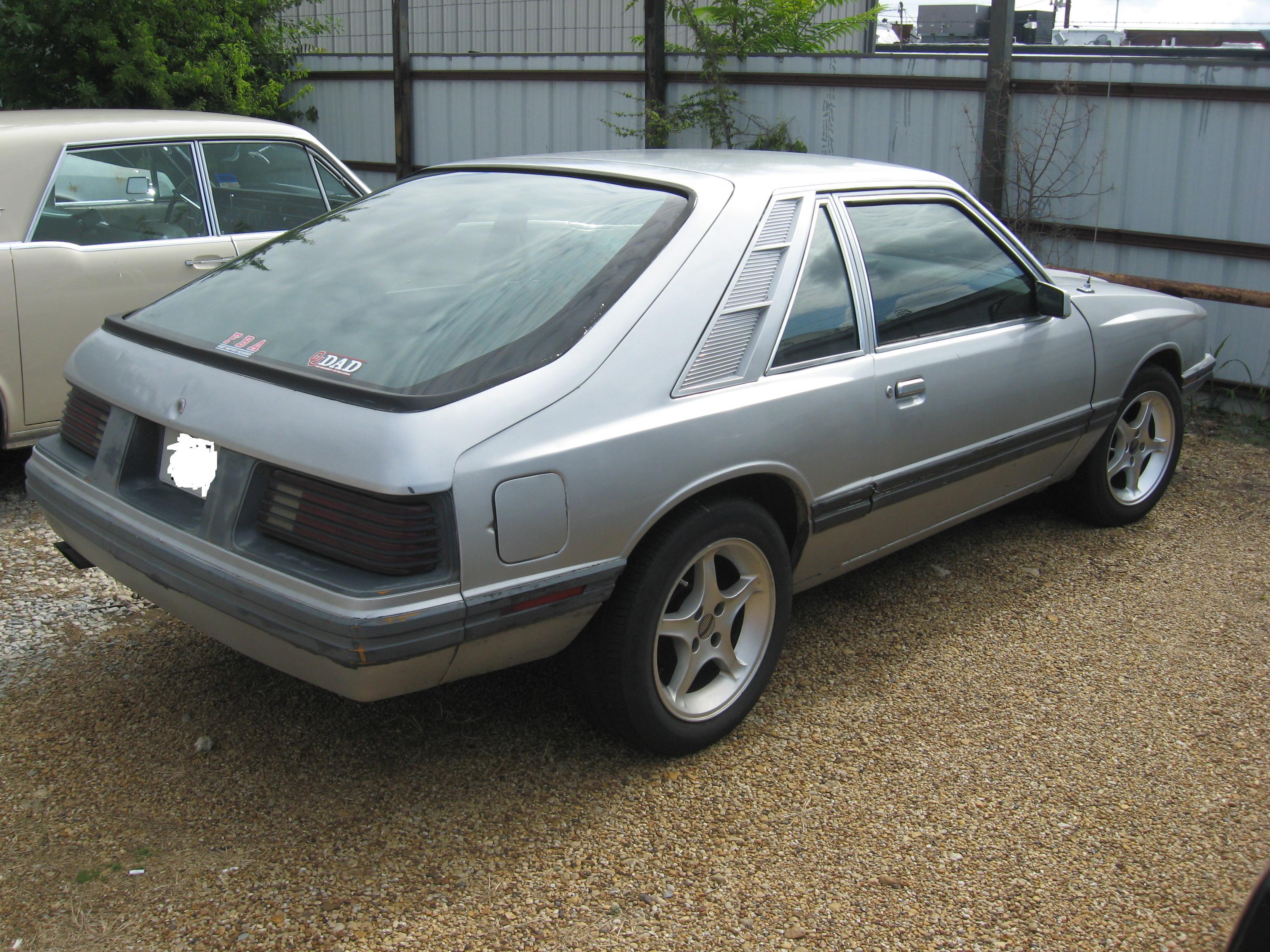 1984 Mercury Capri Wilson S Auto Restoration Blog Wilson S Auto Restoration Blog