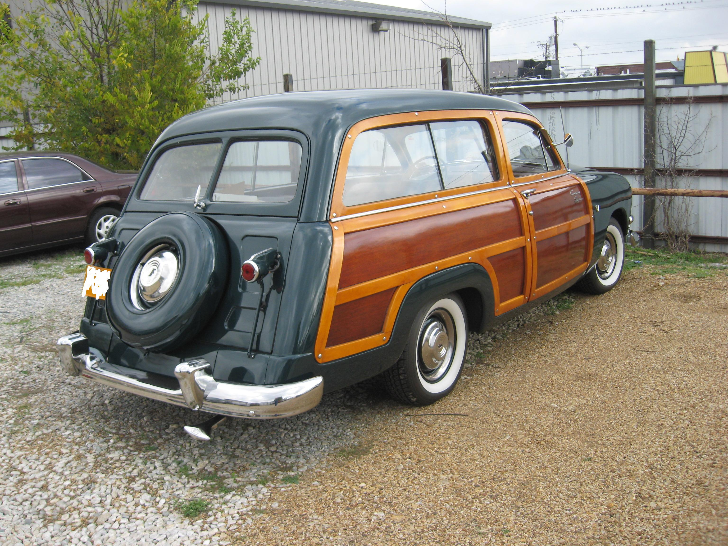 1951 Ford Squire Woody Wagon
