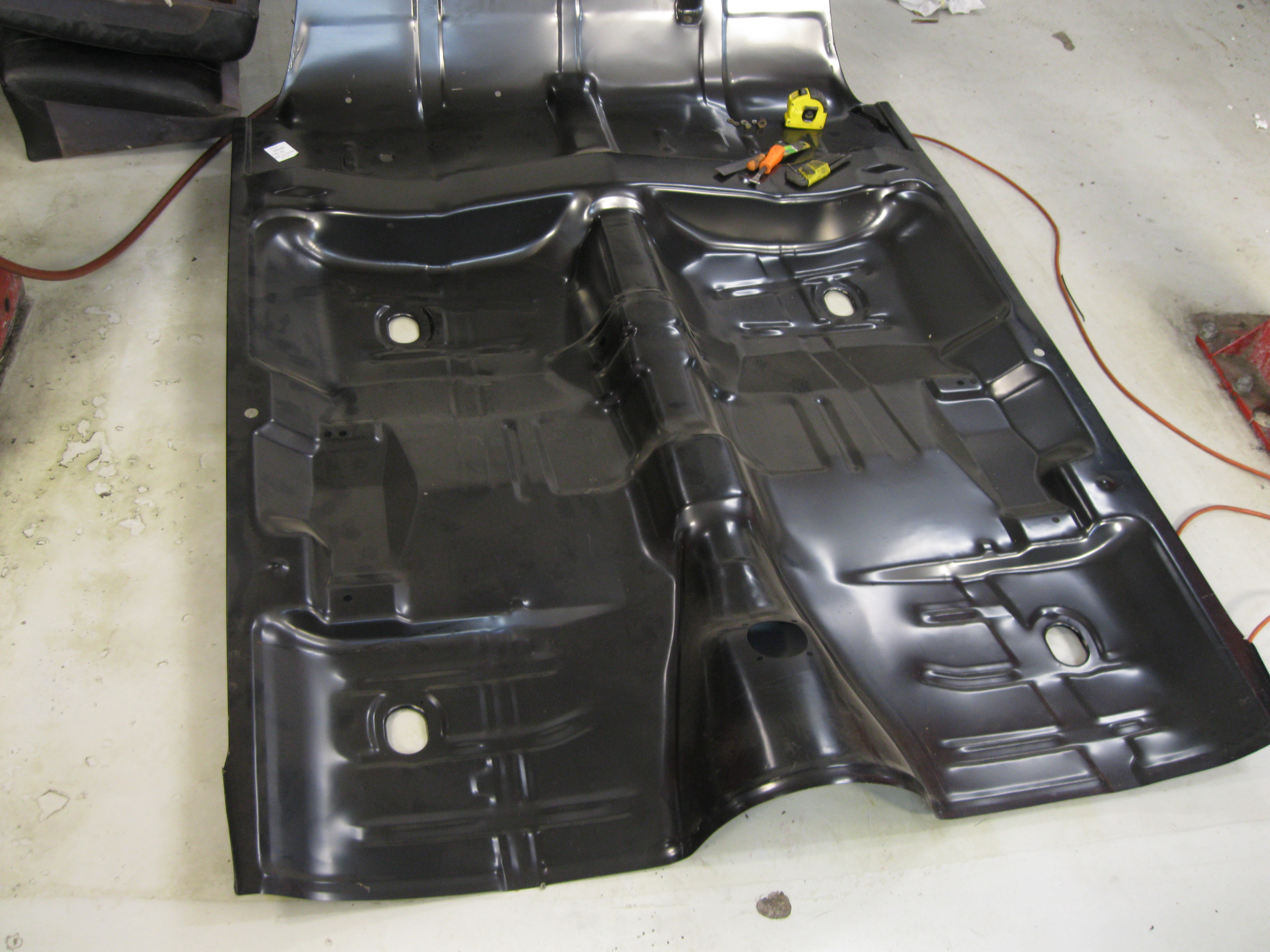 Floor Replacement for a '67 Chevelle - Wilson's Auto